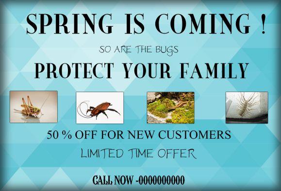 Pest Control Spring
