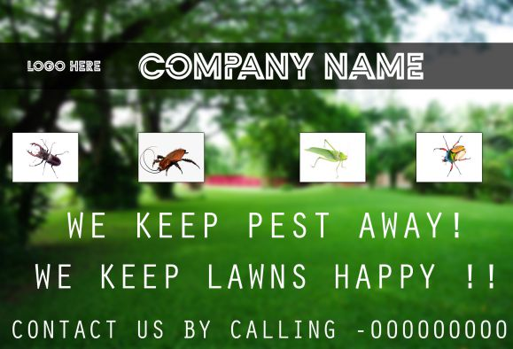 Pests Control Logo