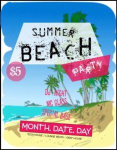 Summer Beach Template
