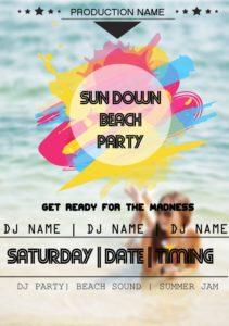 Sun Down Beach Party