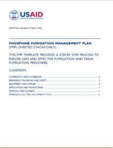 Untitled Phosphide FumigMangmt Plan