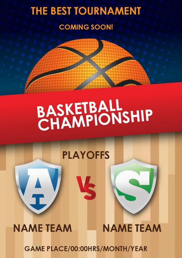 Basket Ball Coming Soon Flyer