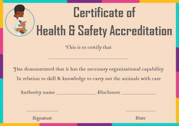 pet health certificate template 9 word templates to download for free demplates. Black Bedroom Furniture Sets. Home Design Ideas