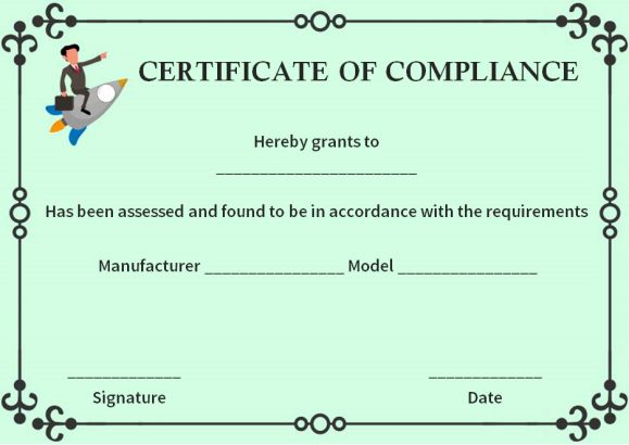 16 downloadable and printable certificate of compliance for Reach certificate of compliance template