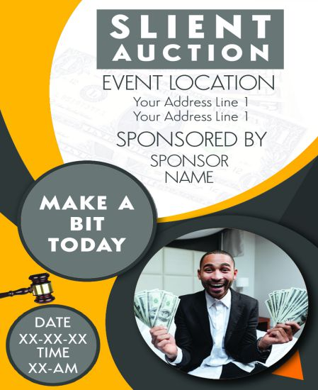 Silent Auction Flyer 10 Eye Catching Flyer Templates For