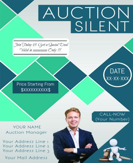 Silent Auction Donation Flyer