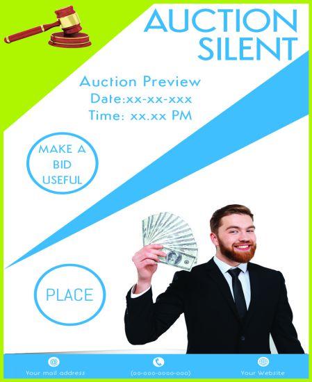 Silent Auction Donation Request Flyer