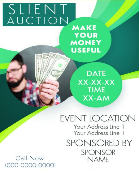 Silent Auction Donation Request Flyers
